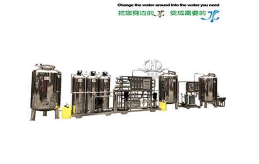 HDNRO_1000 type belt softening secondary reverse osmosis +EDI ultra pure ion removal equipment