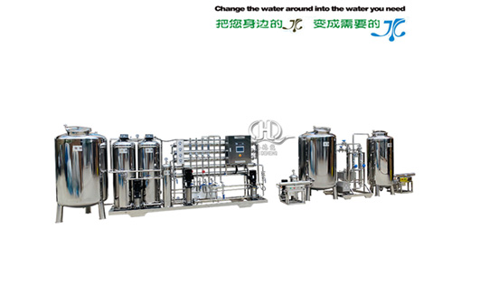 HDNRO 1000 secondary reverse osmosis + Water for Injection system
