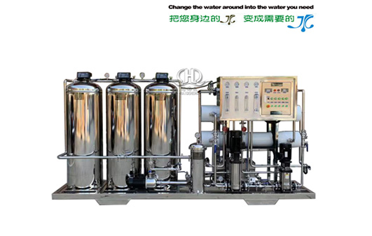 HDNRO_ 500 type two-stage plus 2000 type one-stage reverse osmosis belt softening